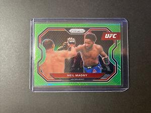 Neil Magny 2021 UFC Prizm Neon Green /75