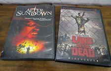 Horror 2 DVD Lot-Land of the Dead - Directors Cut (2005) & After Sundown (2005)