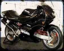 Bimota Tesi Id904Ef 94 1 A4 Metal Sign Motorbike Vintage Aged