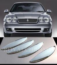 AU STOCK 4X ROYAL X-TYPE CHROME Door Handle Covers Jaguar X Type X400 01-09