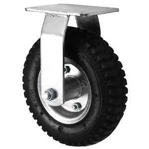 """Black Rubber Pneumatic Swivel/Swivel Braked/Fixed Wheels (300MM/12"""")"""