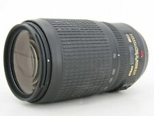 Nikon ED AF-S Nikkor 70-300mm 1:4.5-5.6G Not Working For Parts or Repair