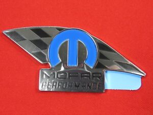 Mopar Performance nameplate emblem NEW OEM MOPAR