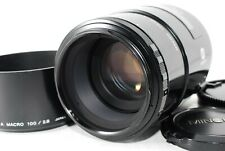 Minolta AF 100mm F2.8 Macro Lens for Sony A-mount f/2.8 [Excellent+5] from JAPAN