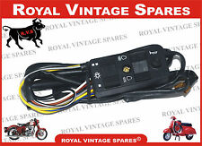 Brand New Vespa PX LML Handlebar Light / Horn Dipper Switch Unit With Wire