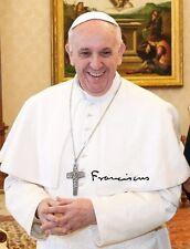 PAPST FRANZISKUS - Repro-Autogramm 20x26cm (Jorge Mario Bergoglio), repro signed