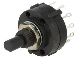 A403-03-M-N-Z-Q Switch: rotary; Pos: 3; 2.5A/125VAC UK COMPANY SINCE 1983 NIKKO'
