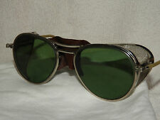 VTG 30S MINT WILLSON SAFETY GLASSES GOGGLES SUNGLASS MOTORCYCLE AVIATOR USA
