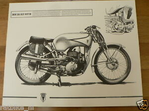 HELMUT KRACKOWIZER RENNMOTORRAD POSTER DKW 250 ULD 1937/38 MOTORCYCLE