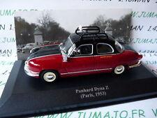 coche 1/43 IXO Altaya TAXI del mundo : PANHARD DYNA Z París 1953