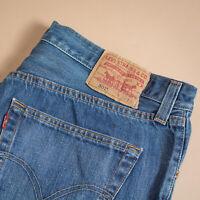 Vintage Levi 501 Jeans Blue Straight Button Fly Unisex (PatchW36L34) W 35 L 34