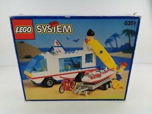 Lego® System nur OVP only Box nur Karton von 6351 Wohnmobil Surf `n Sail Camper