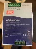 MEAN WELL WDR-480-24 Power Supply