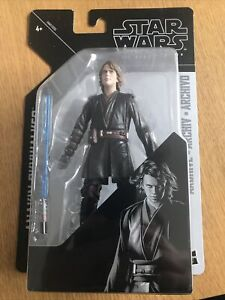 STAR WARS THE BLACK SERIES ARCHIVE ANAKIN SKYWALKER ACTION FIGURE NEW SEALED TOY