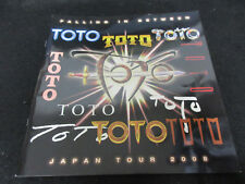 TOTO Falling in Between 2008 Japan Tour Book Program Steve Lukather David Paich