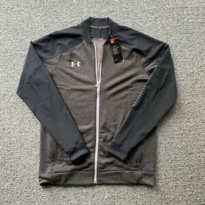 Under Armour Coldgear UA Knit Warm Up Zip Track Jacket Size M or L - $70