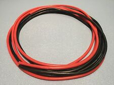 10' Feet 14 AWG Flexible Silicone Wire 14 Gauge ga Tin - Copper 5'-Red 5'-Blk RC