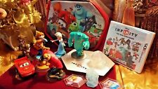 Disney Infinity Toy Box Challenge 3DS & Start N Go Carry Case Lot of 14