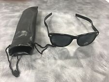 Polarized Aviator Sunglasses Comfortable Temple Band To Wear With Headsets