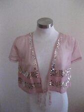 Ladies Antique Rose Bolero Jacket Size 38 - BRAND NEW