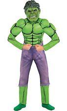 Marvel Comics Boys Child Hulk Muscle Halloween Costume Size 12-14 LARGE NEW