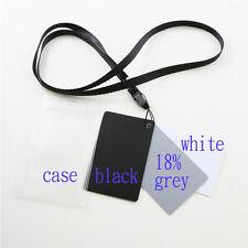 MINI 3-in 1 18/% Grigio Bianco Nero Carta Set per saldo fotocamera reflex digitale a colori