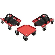 Extreme Max 5800.0228 V-Slides Snowmobile Dolly System-Powdercoated Steel