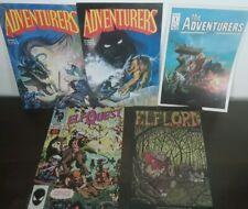 Vintage Comic Book Lot elfquest adventurers elf Lord