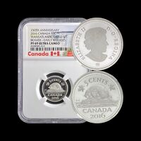 2016 Canada 5 Cents (Silver) - NGC PF69 UC
