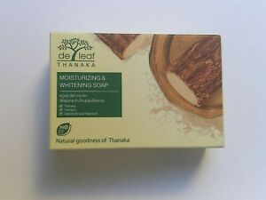 De Leaf Turmeric & Thanaka Herbal Soap - Moisturizing with Vitamin B3 & E 100g