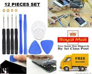 Mobile Phone Opening Tool Kit Screwdriver 12 in 1 set for Repair Smartphones