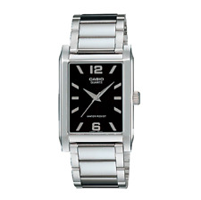 Casio Metal Band Water Resistance Watch MTP-1235D-1A