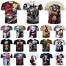 New Women Men Joker Harley Quinn Print 3D T-Shirt Casual Short Sleeve Tops Tee