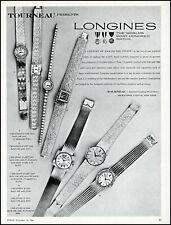 1966 Tourneau Longines women's gold watches 14K 18K vintage photo Print Ad adL16