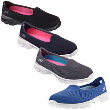 Gowalk Slip On Textile Trainers for Women
