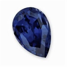 SPINEL SAPPHIRE PEAR CUT CUBIC ZIRCONIA LOOSE GEMS - 3X5MM - VARIOUS PACK SIZES