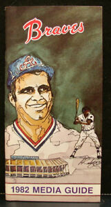 1982 Atlanta Braves Official Media Press Guide, 92 Pages of Facts & Fun!