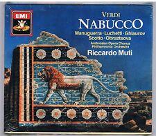 GIUSEPPE VERDI NABUCCO - 2 CD + BOOKLET F.C. SIGILLATO!!!