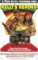 Kelly's Heroes Movie POSTER 11 x 17 Clint Eastwood, Donald Sutherland, A