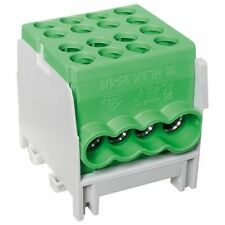Hauptleitungs Abzweigklemme 1 p.2 Eingänge 25 mm² und 6 Ausgänge 16 mm² grün ver