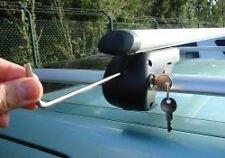 M-Way Roof Cross Bars Locking Rack Aluminium for Land Rover Discovery II 98-04