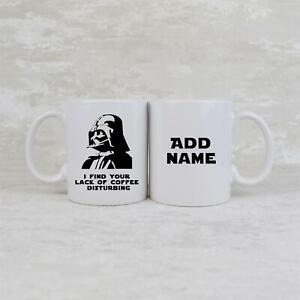 Star Wars Darth Vader Ceramic Mug Personalised Coffee Cup Gift Idea