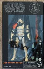Hasbro Star Wars Black Series 03 Sandtrooper Action Figure Orange Box