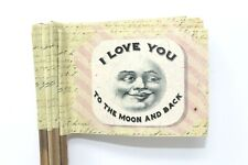 Lot 12 Marker Flags Wedding Table Number Flower Shop Love You To The Moon & Back