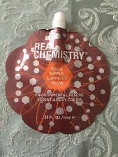 REAL CHEMISTRY Environmental Rescue Essential Day Cream TravelSz 10ml NEW/SEALED