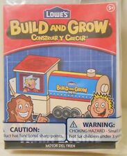 Model TRAIN ENGINE Lowe's Build and Grow Wooden Kit with Patch