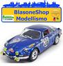 RENAULT ALPINE A110 1600S Blu Miniminiera 1/18 DIE CAST Rally Montecarlo 1971