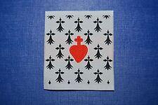 écusson insigne tissu patch militaire Hermine Bretonne BZH scoutisme catholique