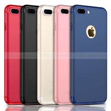 56539279197 Ultra Slim mate goma suave TPU caso Funda para iPhone 6 6s 7 Plus XS Max