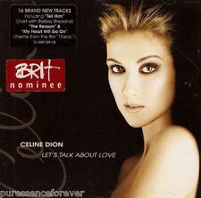 CELINE DION - Let's Talk About Love (UK 16 Tk CD Album)